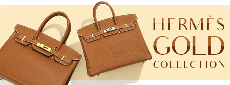 """Hermes Gold"" symbolises the imperial elegance."