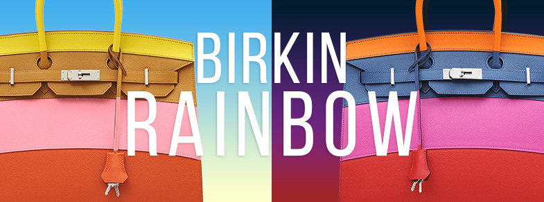Birkin Rainbow, a premium model which paints multicolored array
