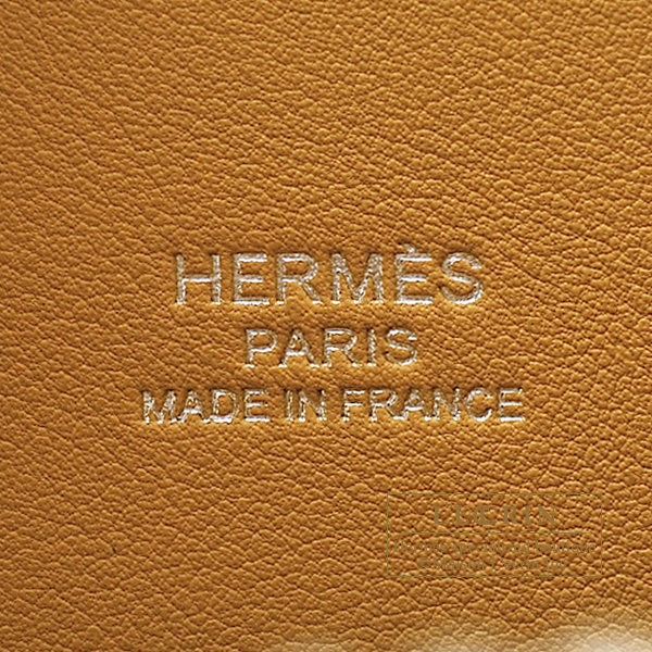 Hermes Bolide bag 1923 Rainbow 30 Lime/Sesame/Rose confetti/Terre battue Epsom leather Silver hardware