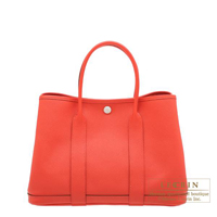 Hermes Garden Party bag TPM Rose jaipur Epsom leather Silver hardware