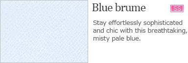 Blue brume