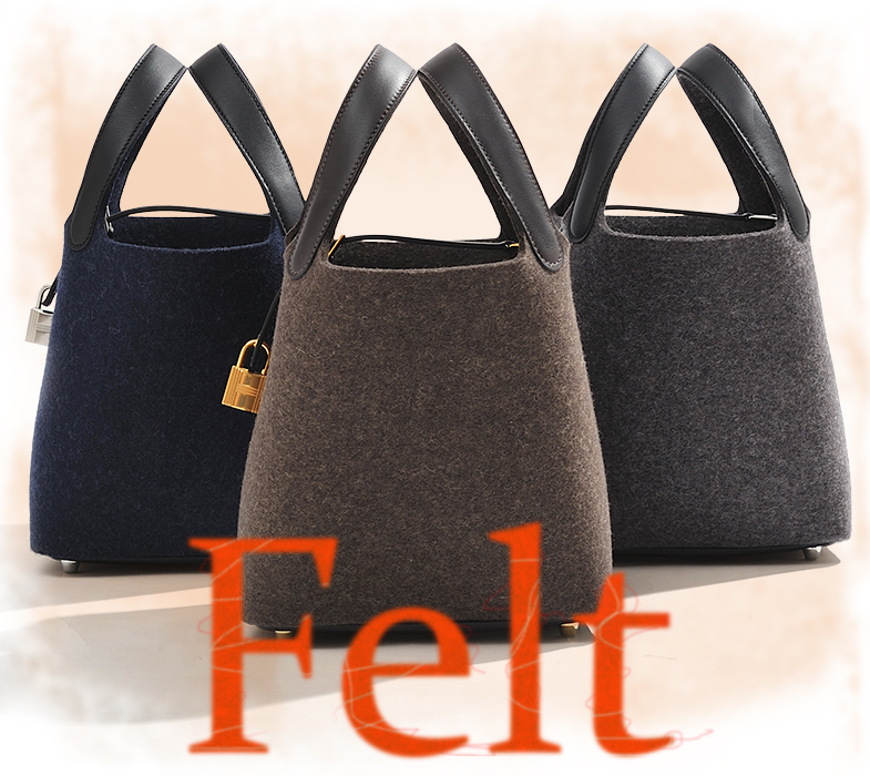 Picotin Lock bag Felt/Swift