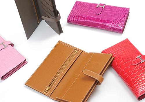 Hermès long wallet Bearn Soufflet