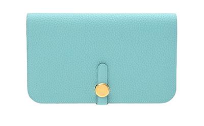 Hermès long wallet Dogon