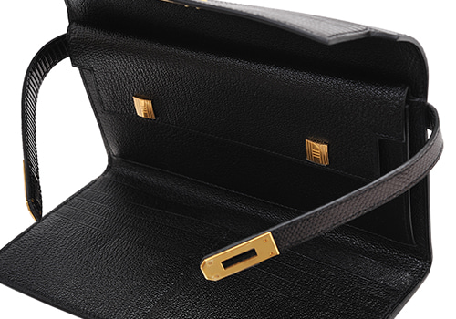 Hermès long wallet Kelly Wallet