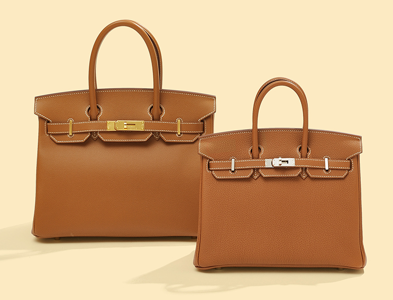 Hermès' typical brown color that gives a rich finish to your outfit